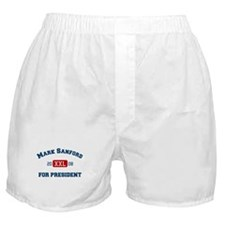 Mark Sanford for President Boxer Shorts