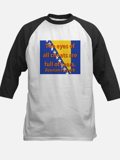 The Eyes Of All Cheats Baseball Jersey