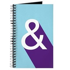 Ampersand - Blue and Purple Journal