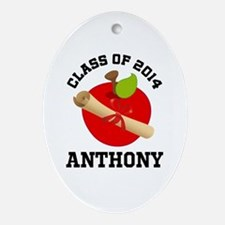 Class of 2014 school Ornament (Oval)