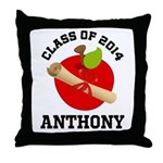 Class of 2014 school Throw Pillow