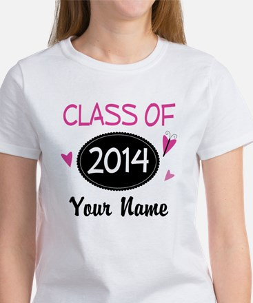 Personalized Class Of 2014 T-Shirt