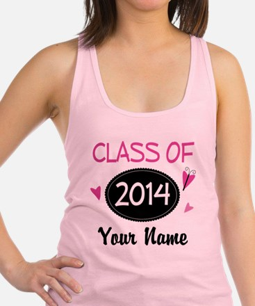 Personalized Class Of 2014 Racerback Tank Top