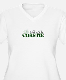 In love with my coastie Plus Size T-Shirt