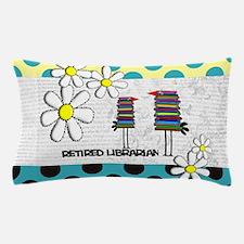 Retired Librarian birds Pillow Case