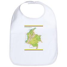 Colombia Green map Bib