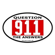 911 Question Decal