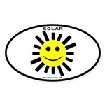 Solar Oval Sticker