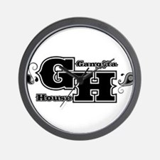 G-House10 Wall Clock