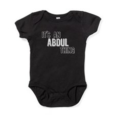 Its An Abdul Thing Baby Bodysuit