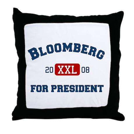 Michael Bloomberg for President Throw Pillow