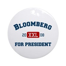 Michael Bloomberg for President Ornament (Round)