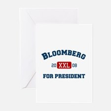 Michael Bloomberg for President Greeting Cards (Pa