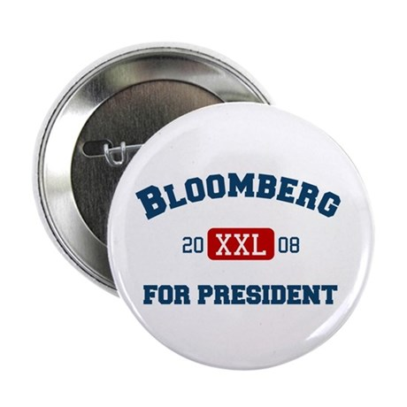 Michael Bloomberg for President Button