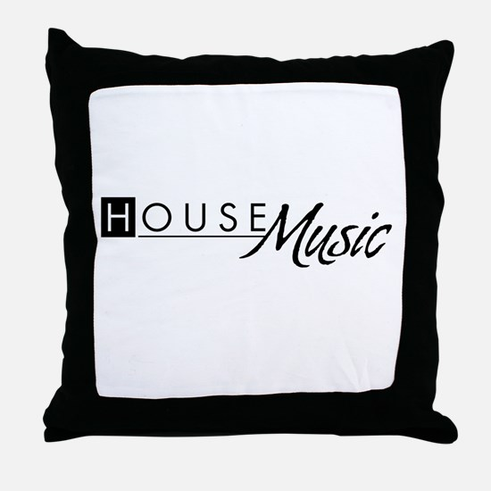 G-House18 Throw Pillow