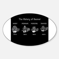 History of Beavers Decal