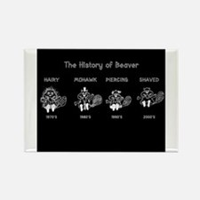 History of Beavers Magnets