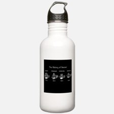 History of Beavers Water Bottle