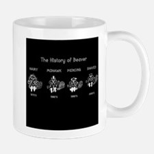 History of Beavers Mugs