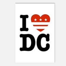 I Love DC Postcards (Package of 8)