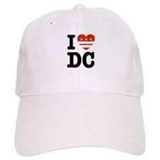 I Love DC Baseball Cap