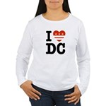 I Love DC Women's Long Sleeve T-Shirt