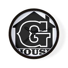 G-House 7 Wall Clock
