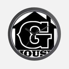 G-House 7 Wall Clock