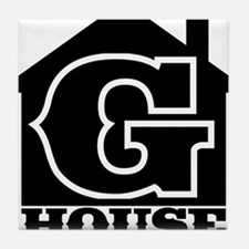 G-House 7 Tile Coaster