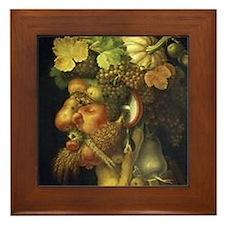 Giuseppe Arcimboldo Framed Tile