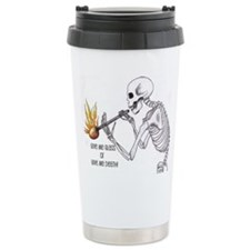 Cute Calavera Travel Mug
