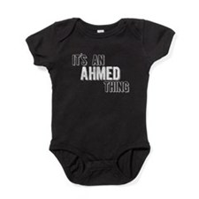 Its An Ahmed Thing Baby Bodysuit
