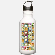 Garfield Face Time Water Bottle
