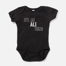 Its An Ali Thing Baby Bodysuit