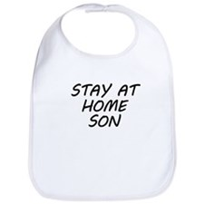 Stay At Home Son Bib