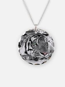 Lazy Tiger Necklace