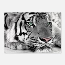 Lazy Tiger 5'x7'Area Rug