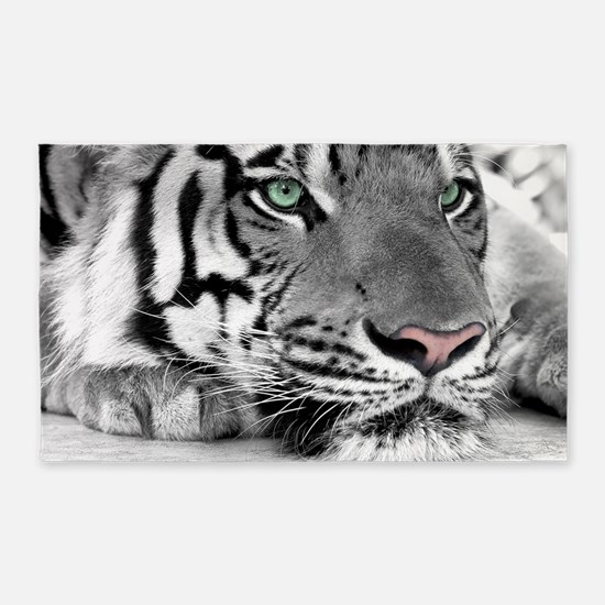 Lazy Tiger 3'x5' Area Rug