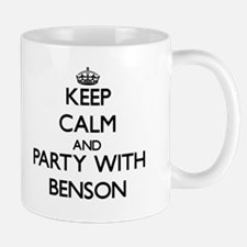 Keep calm and Party with Benson Mugs