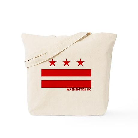 Washington DC Flag Tote Bag