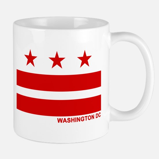 Washington DC Flag Mug