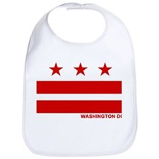 Washington DC Flag Bib