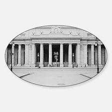 Penn Station Entrance, 1910 Sticker (Oval)