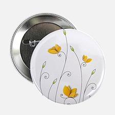 """Paper Butterflies 2.25"""" Button"""