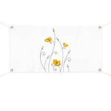 Paper Butterflies Banner