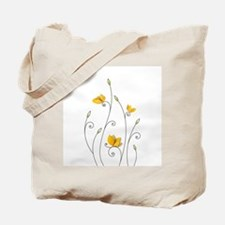 Paper Butterflies Tote Bag