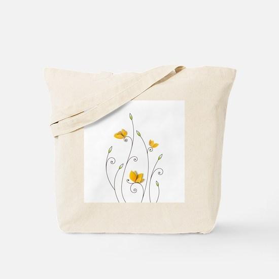 Paper Butterflies Tote Bag