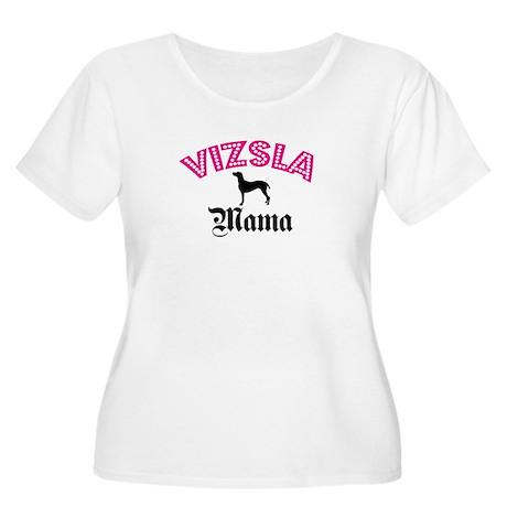 Vizsla Mama Women's Plus Size Scoop Neck T-Shirt