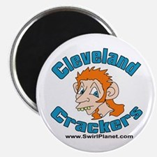 Cleveland Crackers Magnet
