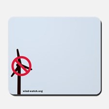 No Turbines Mousepad
